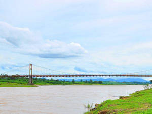 Description: Du lịch Kon Tum - Cầu treo Kon Klor - Làng văn hóa Kon K'tu - iVIVU.com