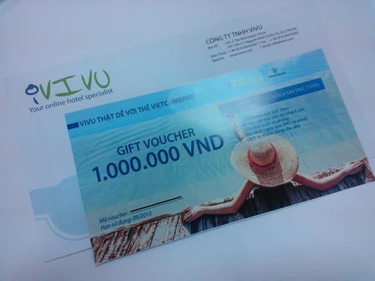 iVIVU khuyến mãi - chủ thẻ Vietcombank - iVIVU.com