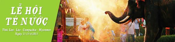 Du lịch châu Á - Lễ hội té nước Songkran - iVIVU.com