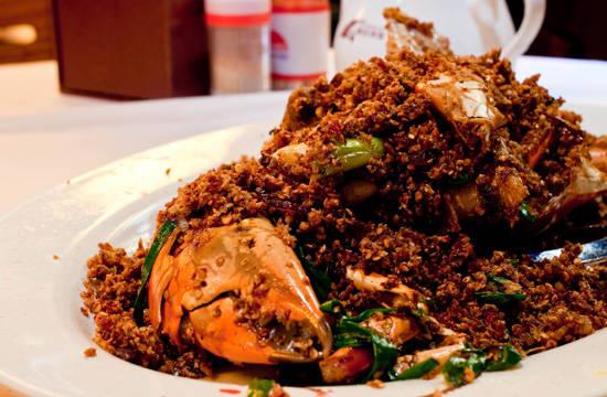 Ẩm thực Hong Kong - Cua cay - iVIVU.com