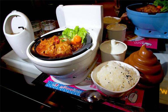 Ẩm thực Hong Kong - nhà hàng Toilet - iVIVU.com