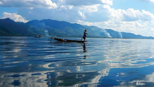 Du lịch Myanmar - hồ Inle - iVIVU.com