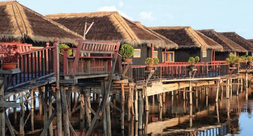 Du lịch Myanmar - dân cư hồ Inle - iVIVU.com
