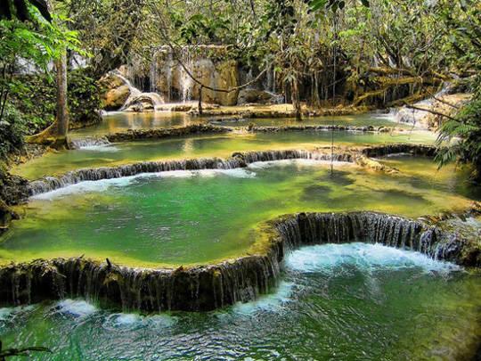 Du lịch Lào - Thác Kuang Si - iVIVU.com