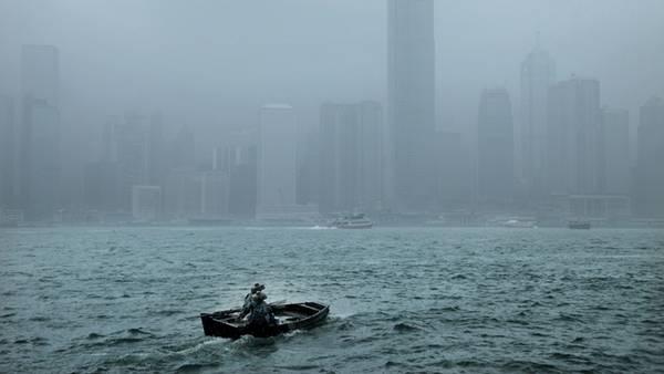 Hongkong trong mưa
