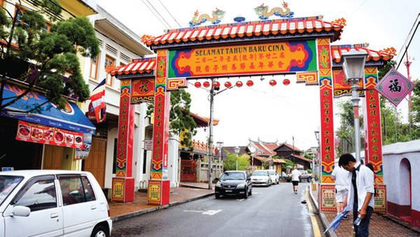 Du lịch Malaysia - Malacca - Cổng chào - iVIVU.com