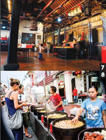 Du lịch Malacca - Malaysia - Đền Cheng Hoon, hàng ăn - iVIVU.com