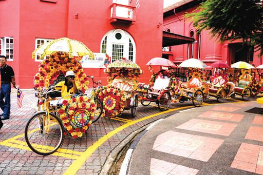 DU lịch Malacca - Xe Trishaw - iVIVU.com