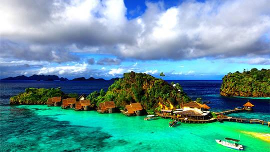 Đến Indonesia dạo chơi thiên đường san hô