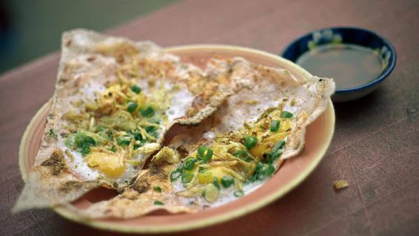 Món ngon Đà Nẵng - bánh tráng kẹp