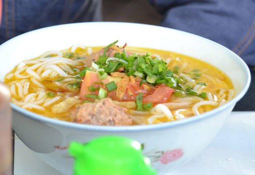 Món ngon Buôn Ma Thuột - Bún riêu