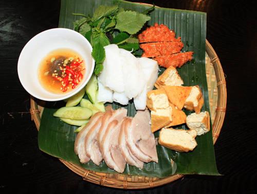 Ẩm thực Sài Gòn - bún đậu mắm tôm - iVIVU.com