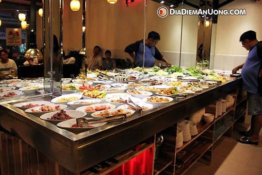 Ẩm thực Sài Gòn - địa chỉ ăn Buffett dưới 250k - iVIVU.com