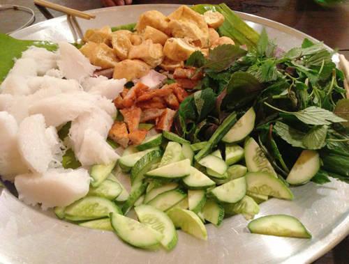 Ẩm thực Sài Gòn - bún đậu mắm tôm 2 - iVIVU.com