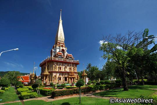 Du lịch Phuket - đền Chalong - iVIVU.com