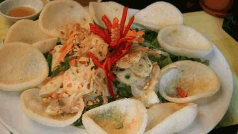 Ẩm thực An Giang - bánh phồng Phú Mỹ - iVIVU.com