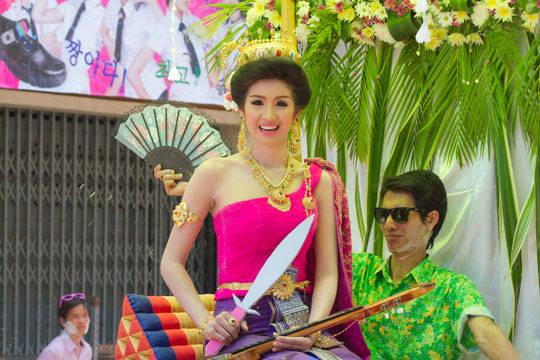 Du lịch Thái Lan - Lễ hội té nước Songkran - Thi người đẹp - iVIVU.com