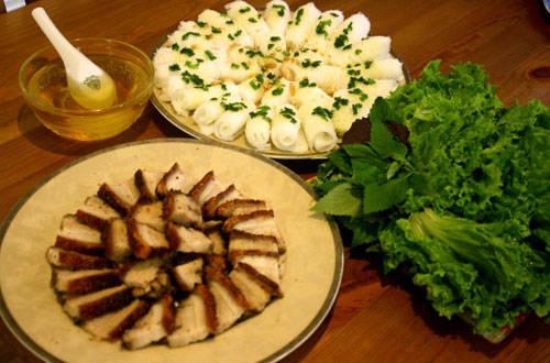 Món ngon Cần Thơ - Bánh hỏi heo quay - iVIVU.com