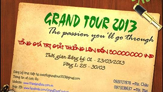 Grand Tour 2013