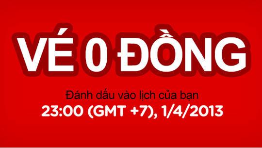 vé máy bay giá rẻ - 0 đồng - iVIVU.com