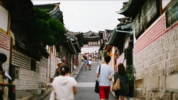 Làng Hanok Bukchon, một trong những điểm du lịch nổi tiếng của Hàn Quốc