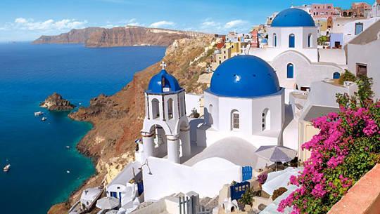 Hòn đảo bước ra từ thần thoại - Santorini - Cùng iVIVU.com