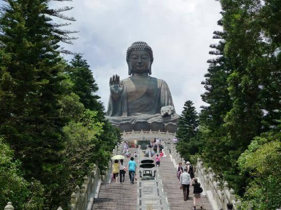 Tượng Tian Tan Buddha - Hồng Kông