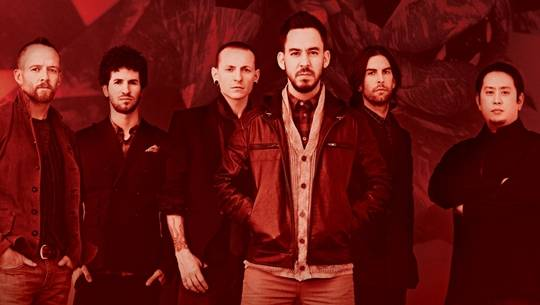 Poster tour diễn Living Things của Linkin Park