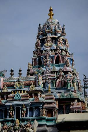 Ngôi đền Ấn Độ giáo Hindu Sri Maha Mariamman.