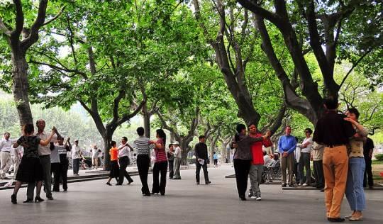 Công viên Phục Hưng, Thượng Hải