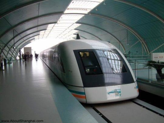 Tàu cao tốc Maglev ở Thượng Hải