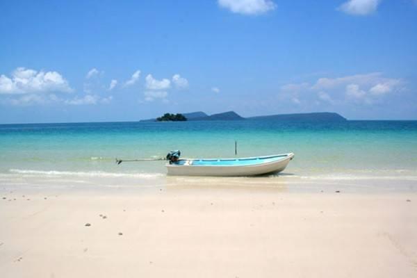Cảnh hoang sơ, yên bình trên đảo Koh Rong