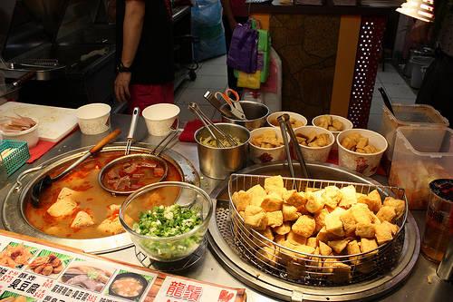 Chợ đêm ở Đài Loan