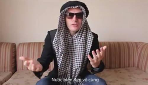 Ca sĩ Mỹ làm clip hài hước về du lịch Việt