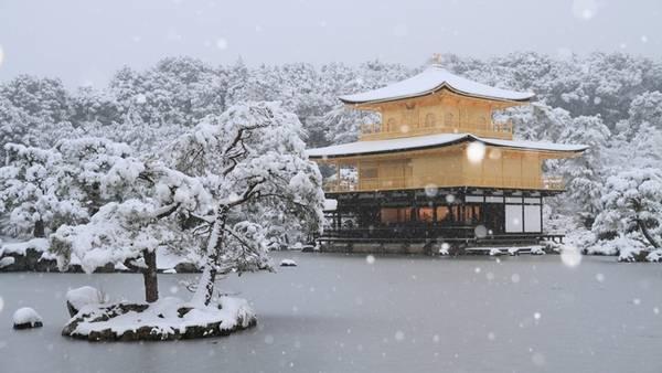 Đền Kinkakuji, Kyoto, Nhật Bản