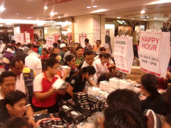 Malaysia chuẩn bị vào mùa Mega Sale 2013