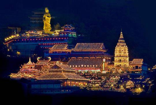 Quần thể chùa Kek Lok Si