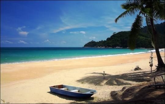 Bãi biển Juara ở đảo Tioman