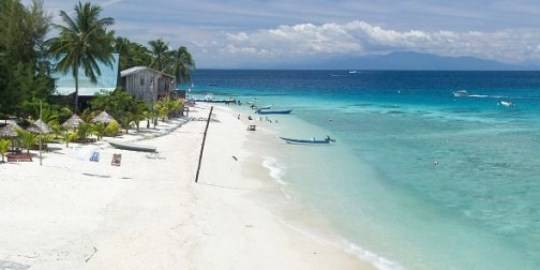 bãi biển đảo Perhentian Kecil ở bang Terengganu