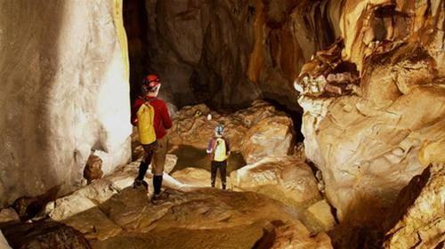 Một cảnh trong hang Sơn Đoòng - Ảnh do Hội Hang động Hoàng gia Anh cung cấp