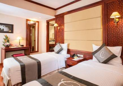 Nội thất bên trong Khách sạn Conifer Boutique Hà Nội
