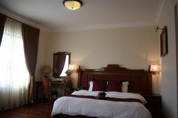 Nội thất bên trong khách sạn Central Quảng Ngãi