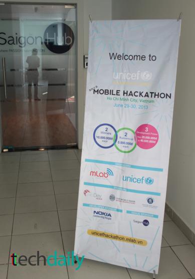 Chung kết cuộc thi bắt đầu từ 3:00pm chiều Chủ Nhật ngày 30/06/2013 tại SaiGon Hub – Ảnh: Techdaily.vn