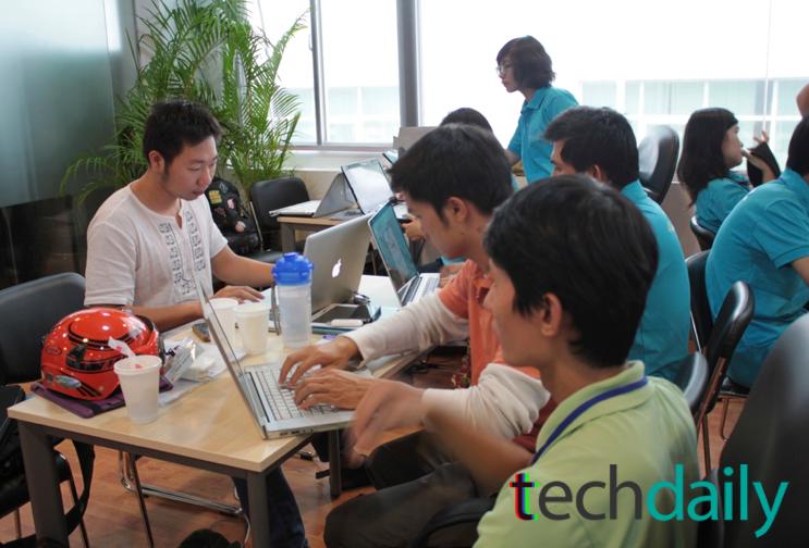 Sau vòng lựa chọn thứ nhất, các nhóm có 36 tiếng đồng hồ tới 3:00pm ngày 30/06 để hoàn thiện sản phẩm của mình, bước vào vòng trình bày cụ thể ý tưởng của mình với BGK – Ảnh: Techdaily.vn