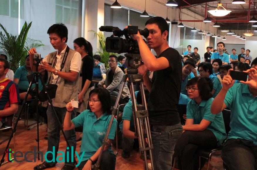 Cuộc thi nhận được sự quan tâm của nhiều đơn vị truyền thông tham gia đưa tin – Ảnh: Techdaily.vn