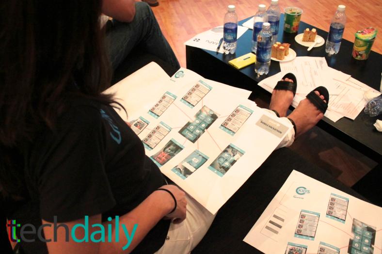 Bản trình bày ý tưởng được mô tả hết sức chi tiết của một nhóm tại phần Thứ thách thứ 2 cuộc thi – Ảnh: Techdaily.vn