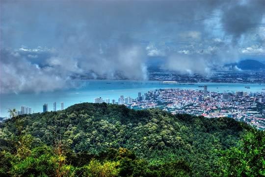 Toàn cảnh nhìn từ đồi Penang
