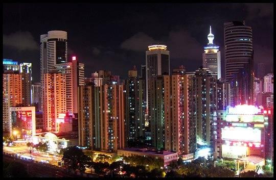 Thâm quyến hiện đại và đẹp không kém Hồng Kông