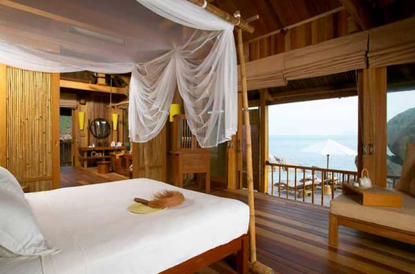Nội thất bên trong Khu nghỉ dưỡng Six Senses Ninh Vân Bay Nha Trang