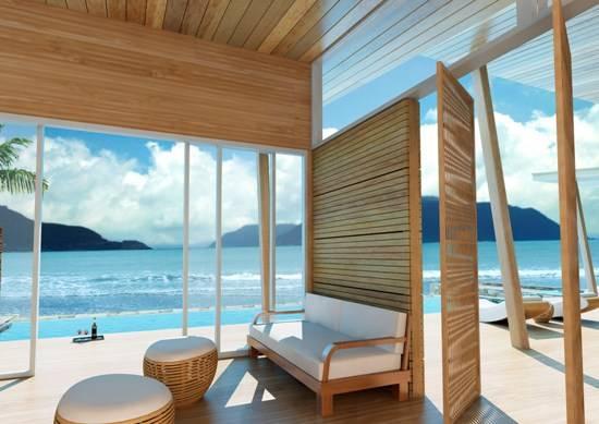 Khu nghỉ dưỡng Six Senses Côn Đảo đẹp tuyệt vời với không gian mở hướng ra biển